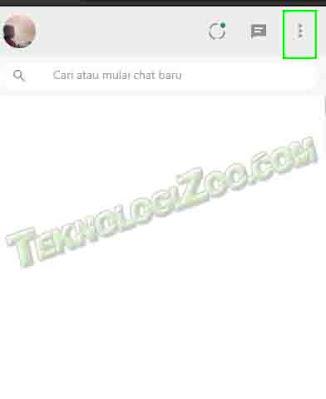 mengaktifkan fitur mode gelap di WhatsApp Web
