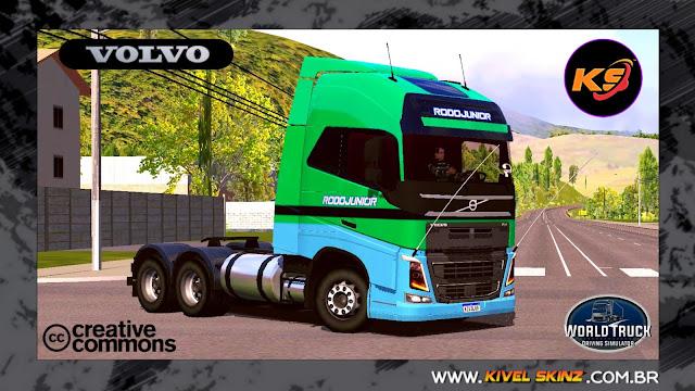 VOLVO FH16 750 - RODOJUNIOR TRANSPORTES VERDE