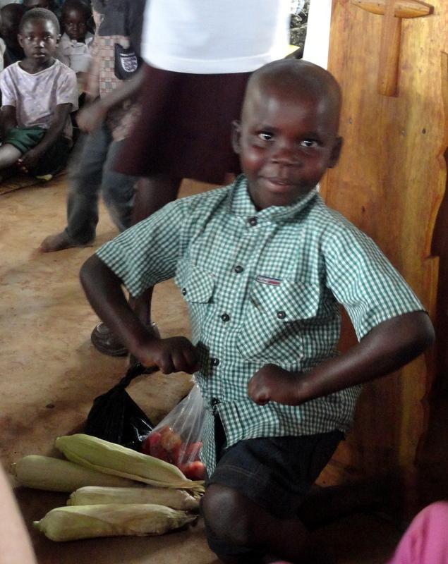 church service in uganda