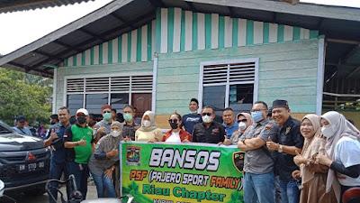 PSF Salurkan Bantuan Sembako Ke Warga Kelurahan Sri Meranti Kec Rumbai Pesisir