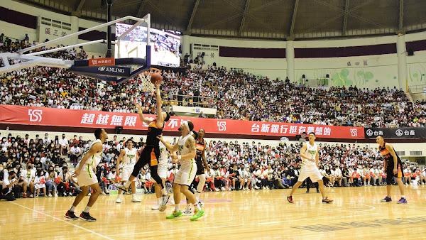 台新夢想家對戰新竹攻城獅 少俠田壘職籃生涯引退賽