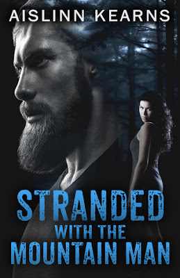 Bea's Book Nook, review, romance, Stranded with the Mountain Man, Aislinn Kearns