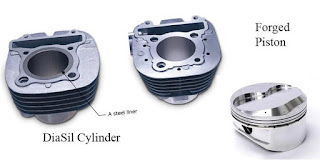 Kelebihan DiASil Cylinder Dan Forged Piston