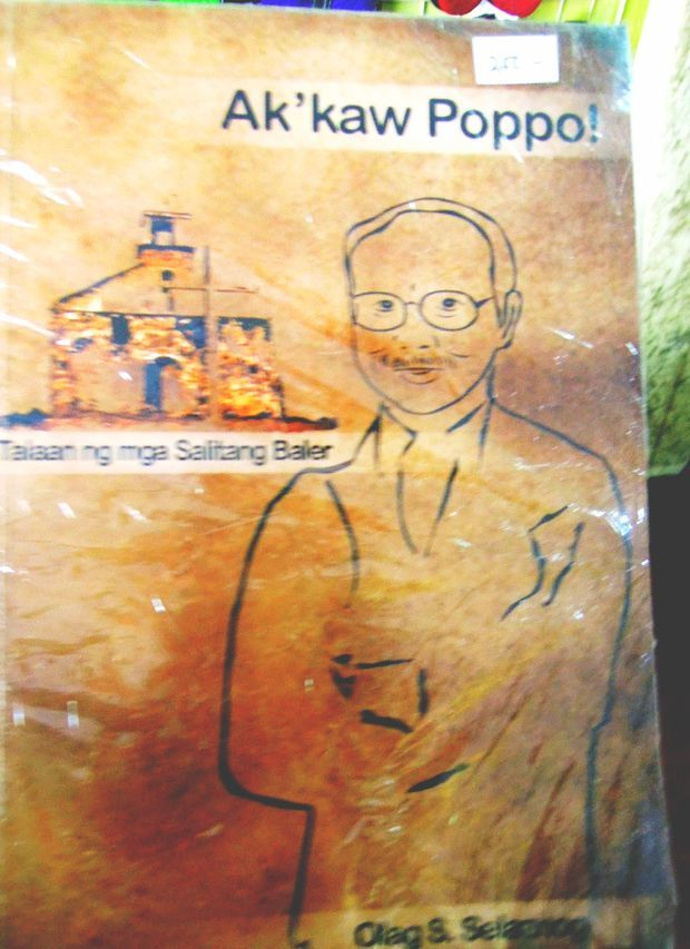 Ak'kaw Poppo book of words from Baler