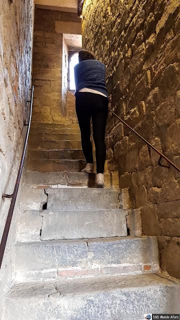 Subida até a torre do Palácio Vecchio - Diário de bordo: 2 dias em Florença