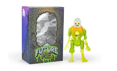 Mondo Exclusive Future Me Toxic Glow Edition Vinyl Figure by Alex Pardee x Rocom Toys
