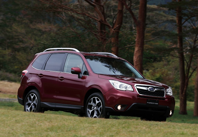 2016 Subaru Forester red
