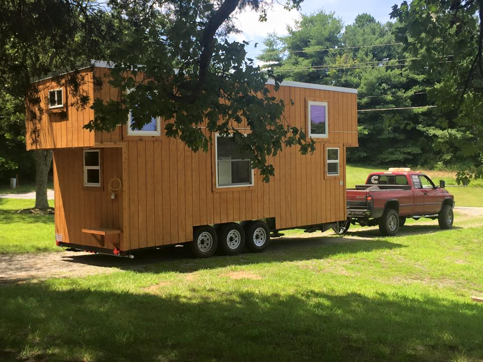 Tiny House Town The Boho Home From Perch And Nest