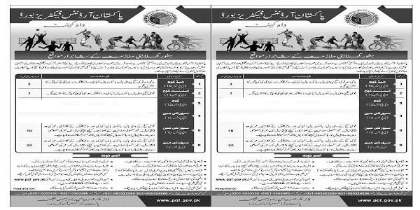 Latest 45 Seats In Pakistan Ordinance Factory Board Jobs 2020