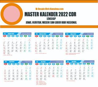 master kalender cdr  2022- kanalmu
