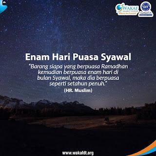 kata motivasi islam tentang puasa syawal
