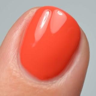 orange creme nail polish