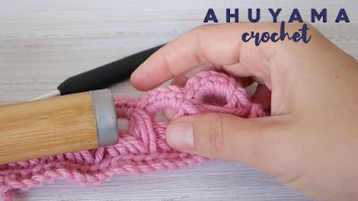 punto escoba ahuyama crochet tutorial