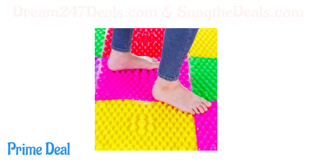 50% foot massager mat