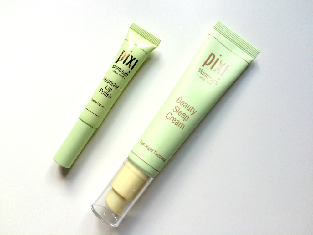 pixi nourishing lip polish beauty sleep cream