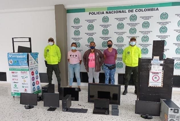 https://www.notasrosas.com/Policía Cesar desarticuló el Grupo 'Las Chequeritas', en Valledupar