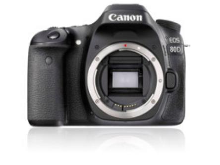 Canon EOS 80D sensor