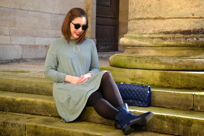 ma robe verte dos nu sheinside les petites choses du monde de chacha blog mode lifestyle. Black Bedroom Furniture Sets. Home Design Ideas