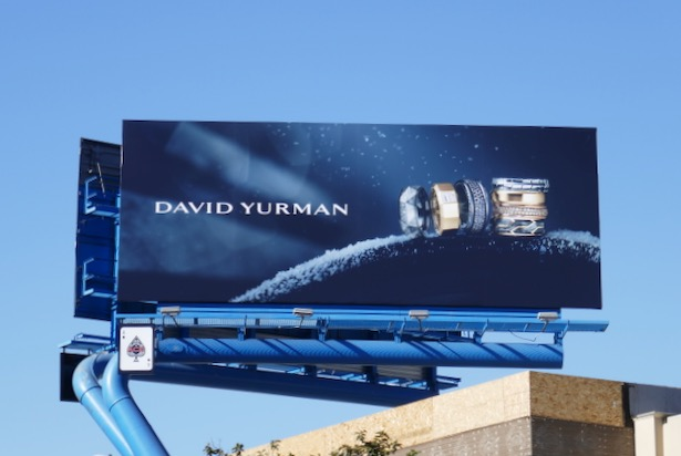 David Yurman jewelry Holidays 2019 billboard