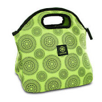 Gaiam Insulated Lunch Bag Tote Leak Resistant Green Marrakesh