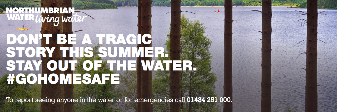 Top Tips for Visiting Local Reservoirs & Waterside Parks this Summer - stay out of the water