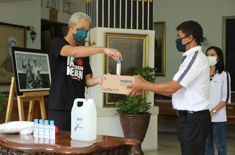 Ditemui Gabungan Pengusaha Asal Taiwan, Ganjar Minta Perusahaan Tak PHK Karyawan