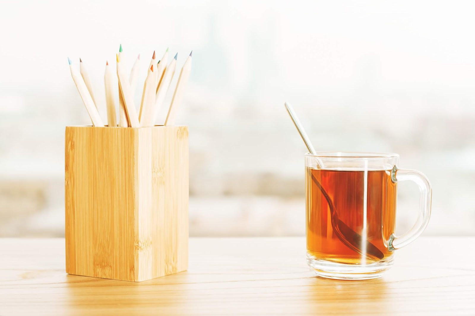 DIY Wood Pencil Holder