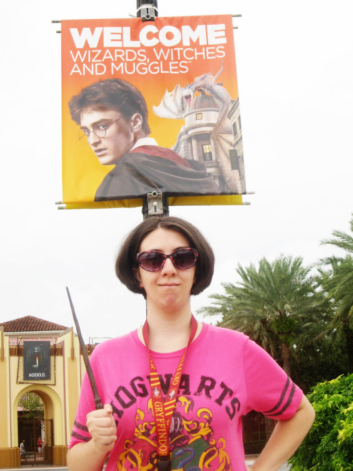 Universal Studios Florida New Harry Potter Signs