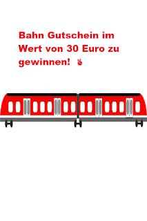 Deutsche Bahn Gutschein gewinnen