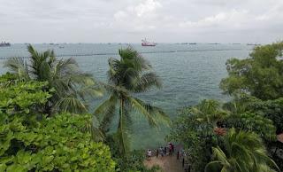 Playa de Palawan. Isla de Sentosa o Sentosa Island, Singapur o Singapore.