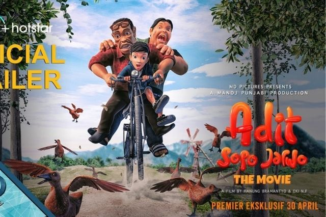 FILM - Adit Sopo Jarwo The Movie 2021 Full HD