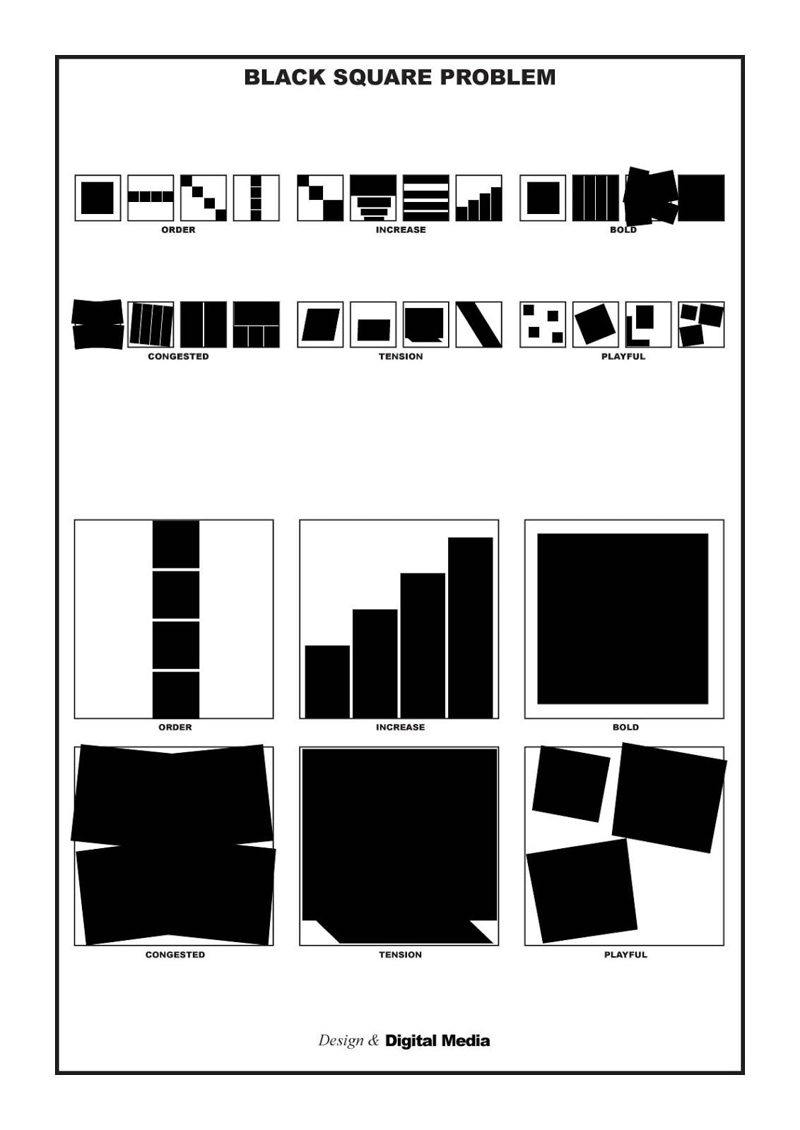 Media: Black Square Problem