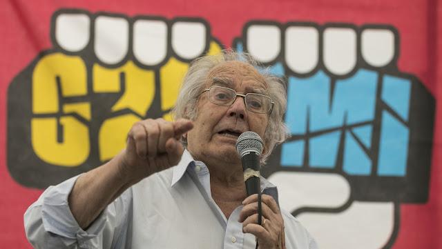 """Premio Nobel de la Paz, sobre el golpe de Estado en Bolivia: """"Detrás de todo esto está la política de EE.UU."""""""