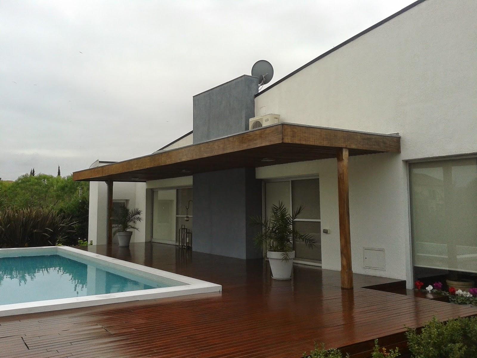 Zinka techos pergolas de madera y metalicas for Techos de galerias exteriores