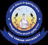 Yogi Vemana Univeristy Logo