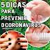 5 Dicas de Cuidados com Unhas e Mãos para prevenir o CORONAVÍRUS