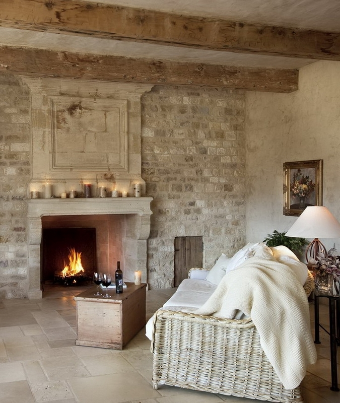 Our French Inspired Home: Rustic Ceiling Beams: Old World ...