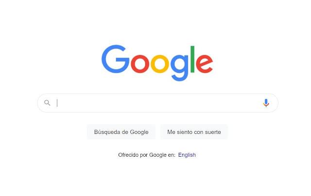 Ingresa en tu navegador Chrome al Google.