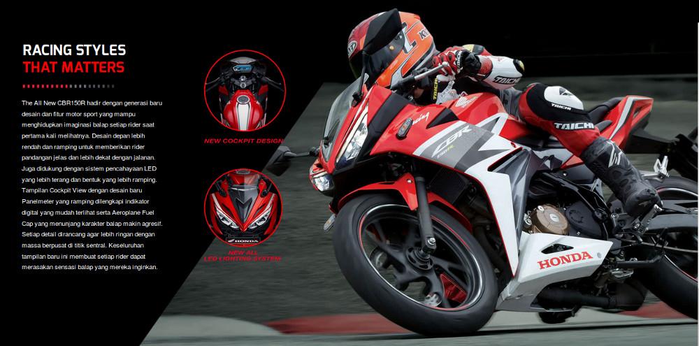 The All New Honda CBR150R