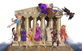 Riassunto sulla religione e sugli dei greci