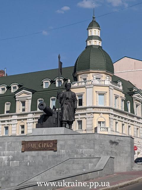 Иван Сирко - памятник в Харькове