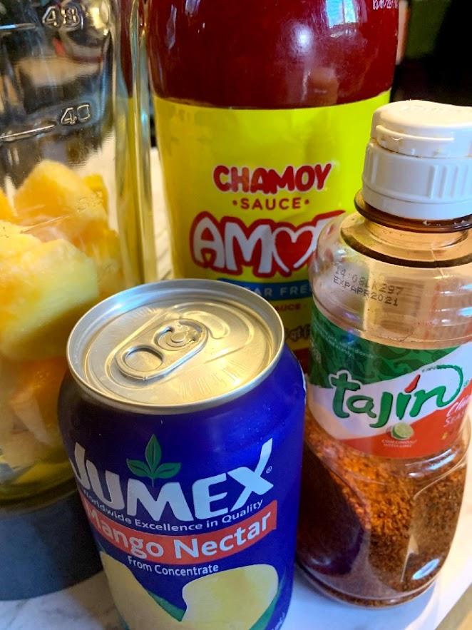 Mangonada Ingredients