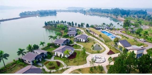 Lãnh đạo tỉnh Vĩnh Phúc giúp Nhật Hằng biến một phần hồ Đại Lải thành ao nhà mình?