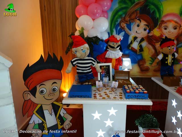 Decoração infantil Jake e os Piratas - Decoração de festa