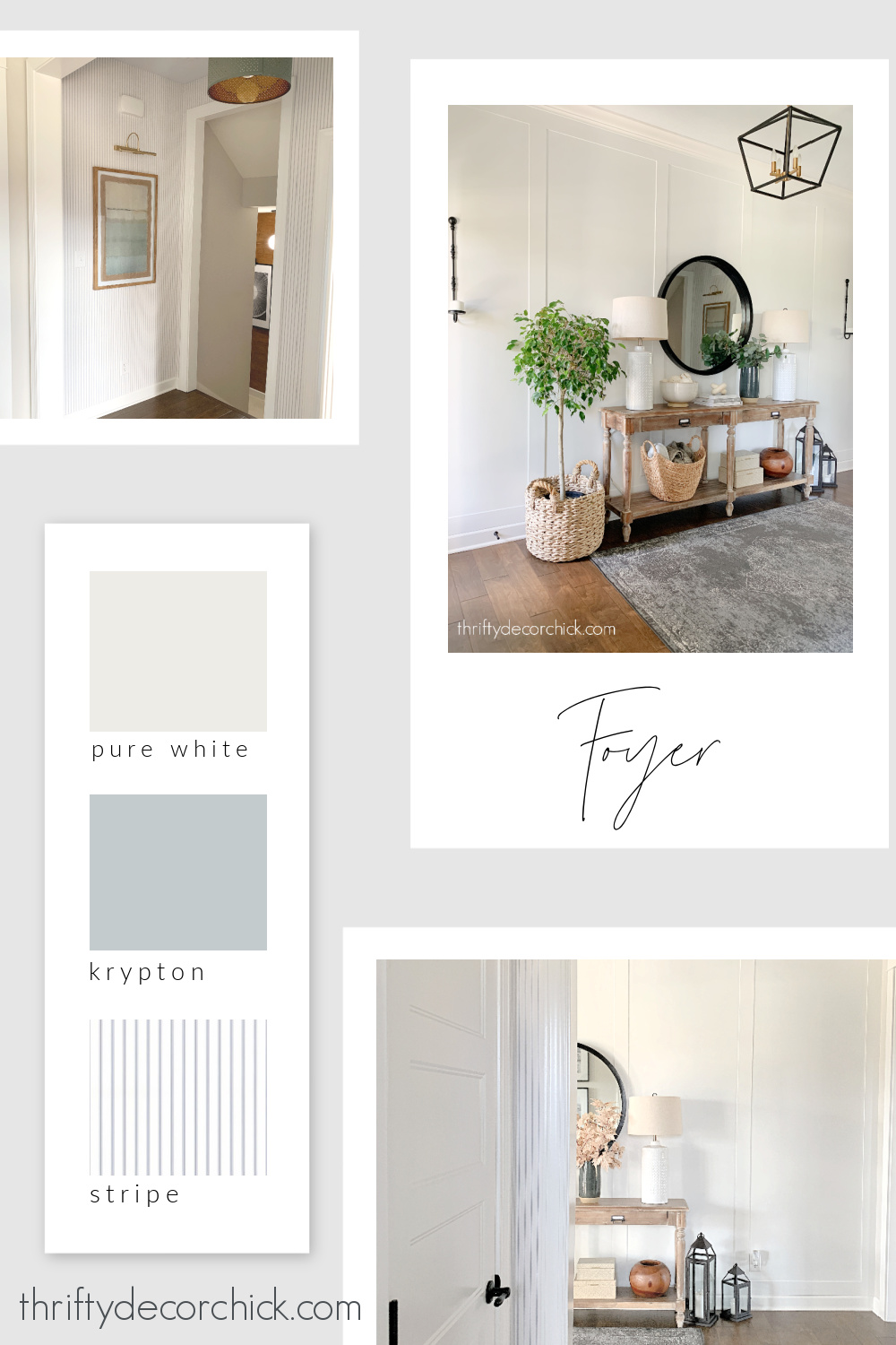Thrifty Decor Chick foyer paint colors