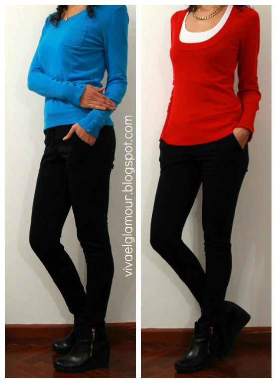 Viva el Glamour! Outfits basicos para la oficina - Otou00f1o / Invierno