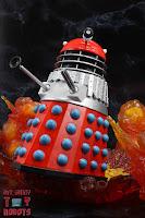 Custom 'Mutation of Time' Red Dalek 17