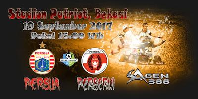 PREDIKSI PERTANDINGAN PERSIJA VS PERSERUI 19 SEPTEMBER 2017 ~ Prediksi Bola Terbaik Indonesia