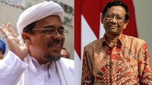 Mahfud MD: Mungkin Alasan Riziq Shihab Tak Pernah Lapor Ke KBRI Karena Menurut Dia Pemerintah Indonesia Ilegal