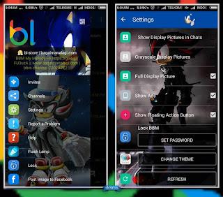 BBM whatsapp mod sonic